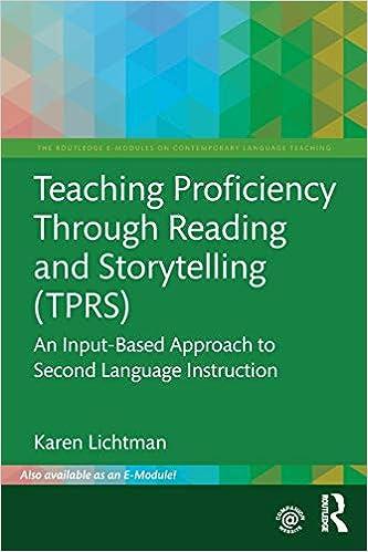 Amazon com: Teaching Proficiency Through Reading and Storytelling