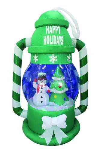 Outdoor Led Lighted Snowman in Florida - 9