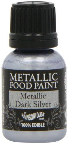 (Rainbow Dust Metallic Paint Dark Silver)