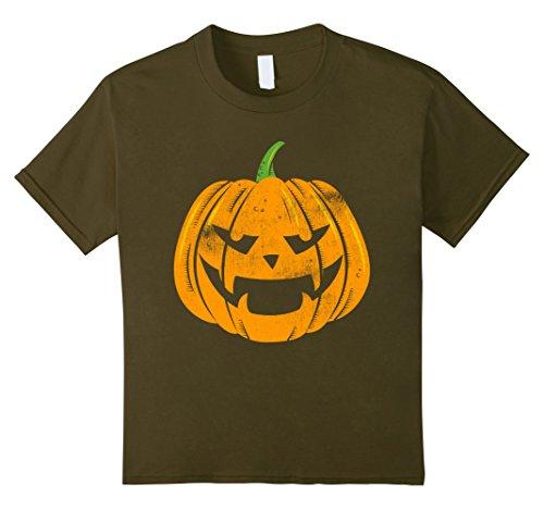 Kids Happy PumPkin Halloween October 31 2017 T Shirt 10 Olive (Happy Halloween October 31 2017)