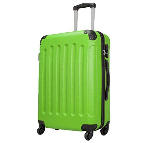AVALON® 35 Liter (56x39x22cm) Handgepäck · Zahlenschloss · Farbe: APFELGRÜN MATT