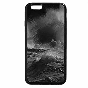 iPhone 6S Plus Case, iPhone 6 Plus Case (Black & White) - Mad Ocean