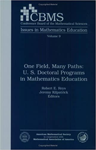 One Field, Many Paths: U  S  Doctoral Programs in