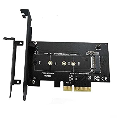 xinyuansu XinYS M.2 NGFF PCIe SSD to PCI Express 3.0 x4 Drvie Host Adapter Card Slot Support M.2 PCIe?NVMe?AHCI ? 2280, 2260, 2242, 2230 by kaijue
