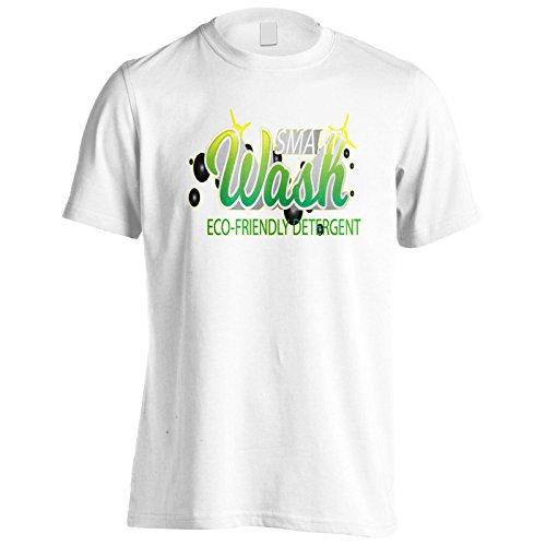 Neue, Intelligente Wasch-Öko-Kunst Herren T-Shirt m518m