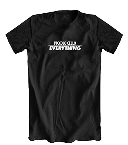 Piccolo Cello Over Everything T-Shirt, Black, X-Large