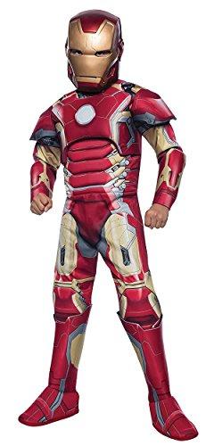 Deluxe Iron Man Child Costume -