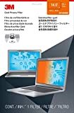 """3M Privacy Filter for 14"""" Laptop - Gold - Works for Lenovo X1 Carbon - Widescreen 16:9 - GF140W9B"""