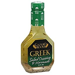 Gazebo Room Greek Salad Dressing and Marinade -  1 Btl