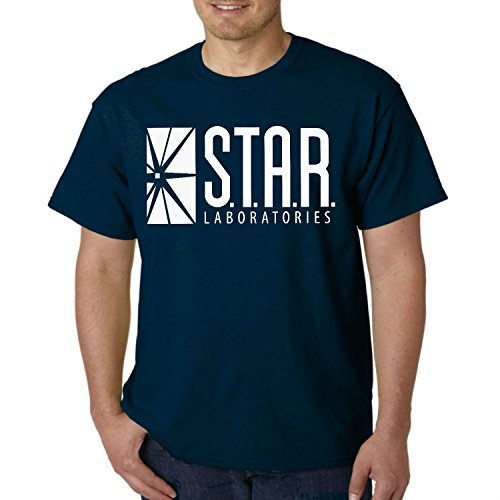 Star Laboratories S.T.A.R. Labs Adult T- Shirt (2X- Large, ()
