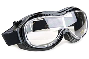 37728180769 Mark 5 Vision Goggles - Clear Lenses  Amazon.co.uk  Car   Motorbike