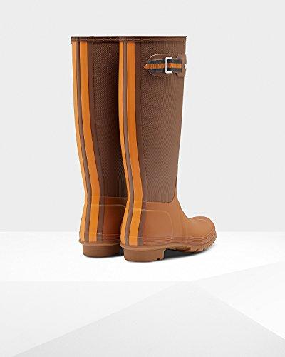 Stivali Da Pioggia Alti Da Donna Sissinghurst Originali Da Cacciatore Terra / Argilla Rossa / Calendula