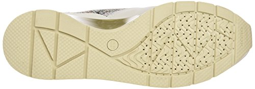 White para Off D Zapatillas Mujer Lt B Gold Geox Blanco Shahira q4pwSnA8