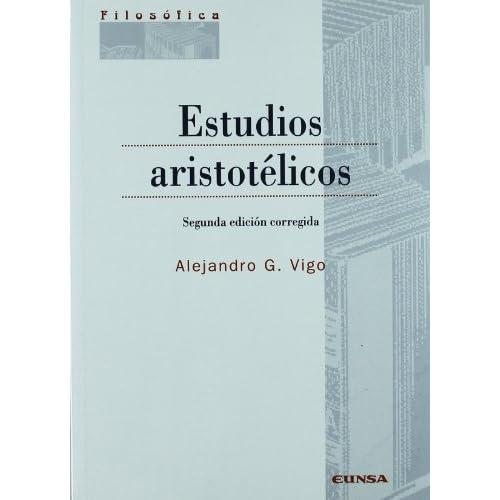 Estudios aristotélicos