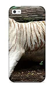 Hot Style HwPEFEu2356mmzVj Protective Case Cover For Iphone5c(tiger Images)