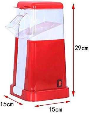 FGY Popcorn Maker Machine, Machine Pop-Corn À Air Chaud Électrique pour La Maison, Rapide sans Gras Puissant Préparation Ustensiles De Cuisine Ménage