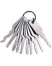 TMP 10 stuk Master Key voor auto,Auto Jiggler Lock Pick Set