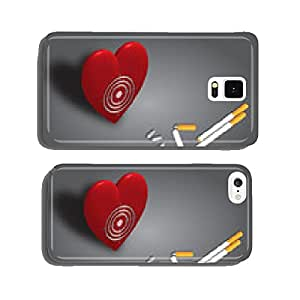 Smoking - Health in the viewfinder cell phone cover case iPhone5