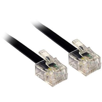 30M Meter Modem Blei / RJ11 auf RJ11 Kabel: Amazon.de: Computer ...
