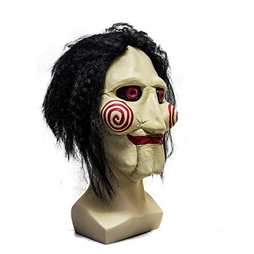 ZGUO Party Halloween Saw Billy The Puppet Mask,