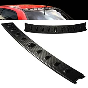 02-07 Mitsubishi Lancer Evolution EVO Vortex Shark Fin Carbon Fiber Roof Spoiler