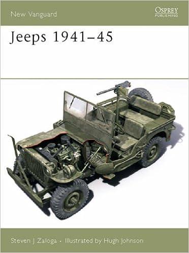 Book Jeeps 1941-45 (New Vanguard)