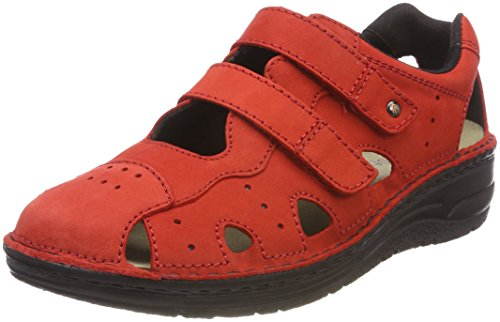 Dames Larena rouge Baskets Rouge Berkemann 46qwZAY