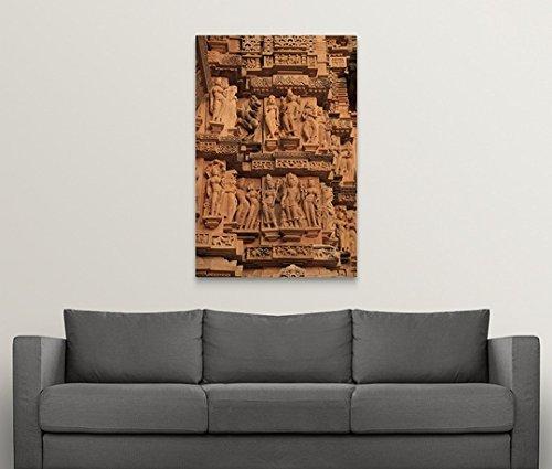 Canvas on Demand Premium Thick-Wrap Canvas Wall Art Print entitled Khajuraho, India 32''x48'' by Canvas on Demand (Image #2)