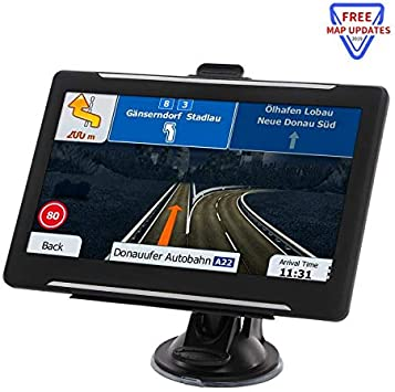 GPS Navigation for car, 7-inch HD 256-8GB Voice Broadcast Navigation