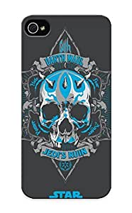 Design For Iphone 5/5s Premium Tpu Case Cover Star Wars Skull Darth Maul Protective Case