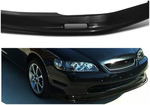 Spec-D Tuning LPF-ACD982M-ABS Honda Accord Ex Dx Lx 2 Dr Coupe Black Front Abs Bumper Lip Spoiler
