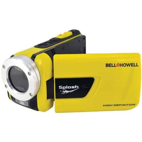 Bell and Howell HD Flash Memory Camcorder Yellow 91584697M