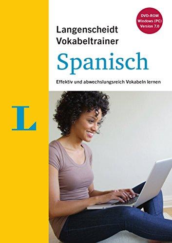 Langenscheidt Vokabeltrainer 7.0 Spanisch - DVD-ROM: Effektiv und abwechslungsreich Vokabeln lernen, Deutsch-Spanisch