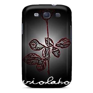 Protector Hard Phone Cases For Samsung Galaxy S3 (gNy16294uNTK) Custom HD Depeche Mode Band Skin