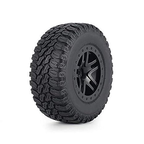 ... AUSTAR 110 mm del borde del neumático de goma del sistema de rueda Kit de accesorios de los recambios para Traxxas de Slash 4X4 RC4WD HPI HSP orugas ...