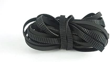 10 metros negro MXL goma importados Open Timing Belt 6 mm de ancho ...