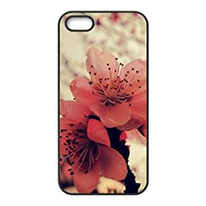 Attractive red flowers personalized creative custom protective phone case for Iphone 6 4.7