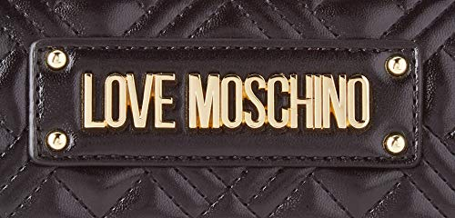 Love Moschino dam JC4206PP0BKA000 axelväska, svart, normal