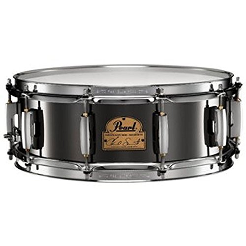 Pearl CS1450 Chad Smith Signature 14 x 5 Inches Steel Snare (Stainless Steel Shell Snare Drum)