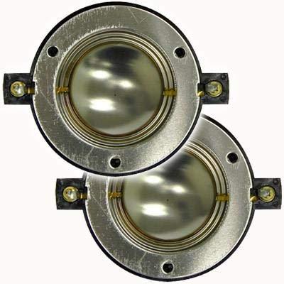 Seismic Audio - T-Diaphragm-2Pk - 2 Pack of Replacement Diaphragms for Pro Audio Loudspeaker Titanium Horn Driver PA/DJ