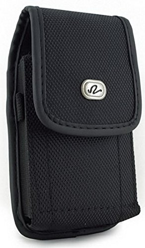 Classic Premium Nylon Pouch Case with Belt Clip FOR FreeStyle Libre -SNK Retail packaging (V2/BLACK)