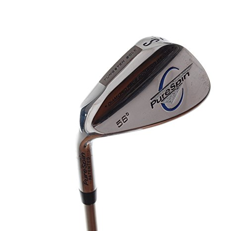 Left Handed Wedges (New Pure Spin Diamond Face Sand Wedge 56 LEFT HANDED)