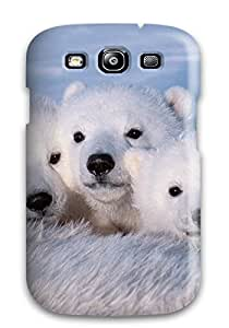 Hot Polarbears First Grade Tpu Phone Case For Galaxy S3 Case Cover