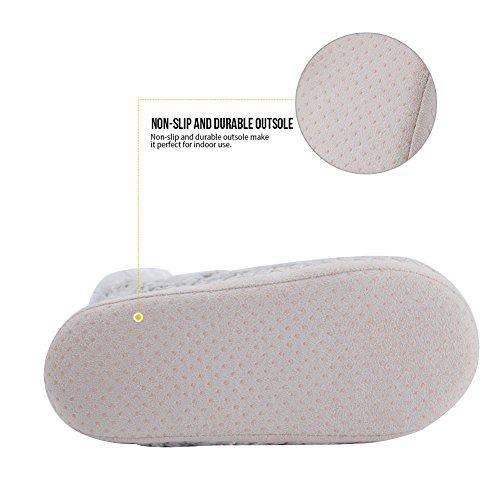 Animal Hiver à 10 Pantoufle Intérieur Flou Mignon Anti MaaMgic Glissement Femme Chaussons la Maison XwUqc8x1t