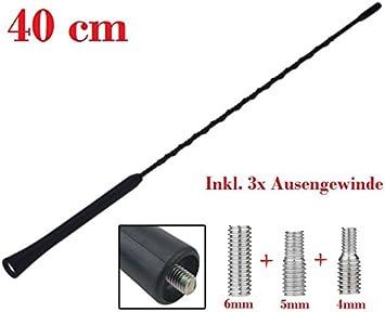 Antena Coche 40cm Varilla Universal