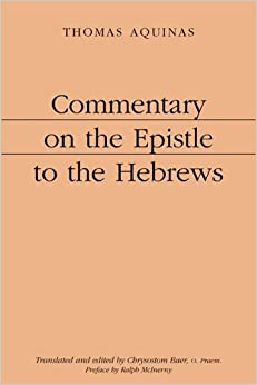 Book Commentary on the Epistle to the Hebrews