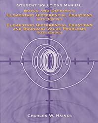 Student Solutions Manual for Elementary and Differential Equations & for Elementary Differential Equations and Boundary Problems by Boyce & DiPrima
