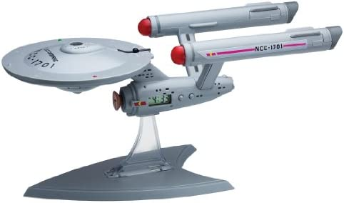 U.s.s. Enterprise Projection Alarm Clock by Underground Toys