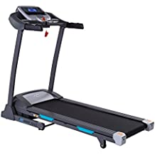 Auto Incline Bluetooth Motorized Treadmill w/ Speakers & Folding for Running & Walking by EFITMENT - T012