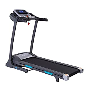EFITMENT Auto Incline Bluetooth Motorized Treadmill w/Speakers & Folding for Running & Walking T012